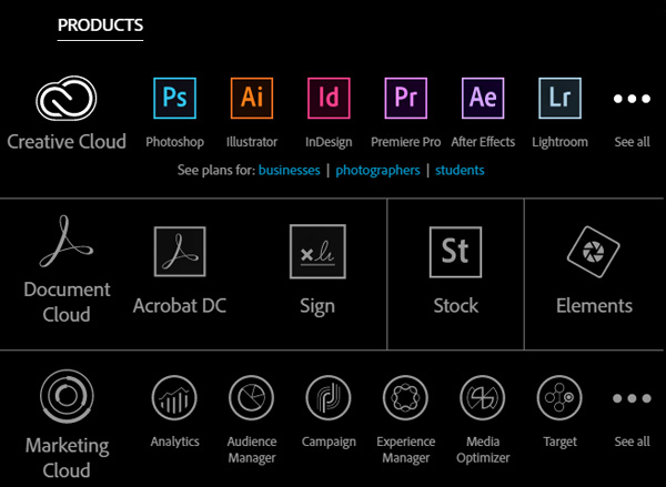 adobe-products