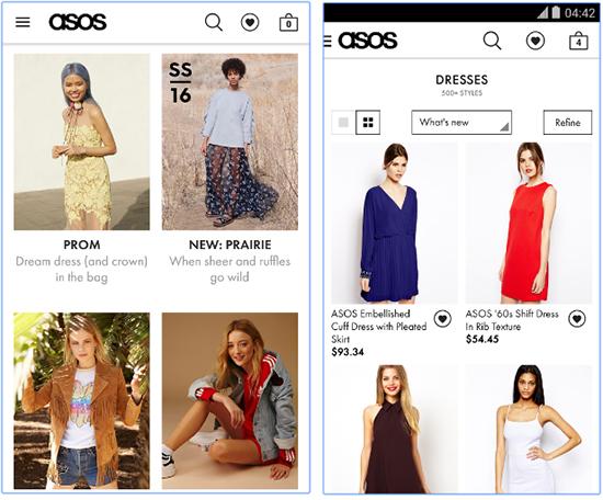 Asos Mobile App