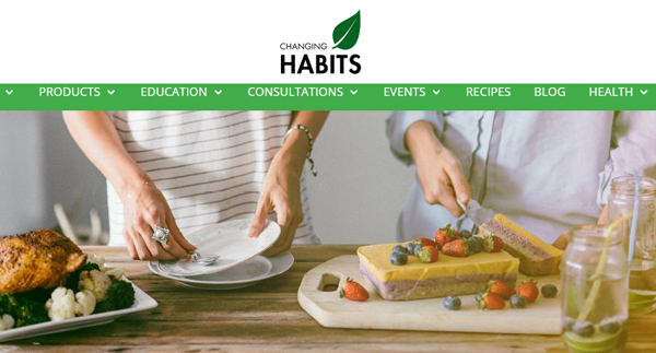 Changing Habits Logo