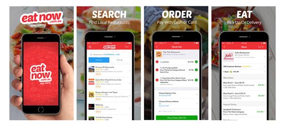 EatNow mobile app