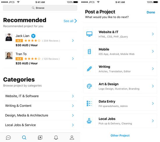 freelancer-app