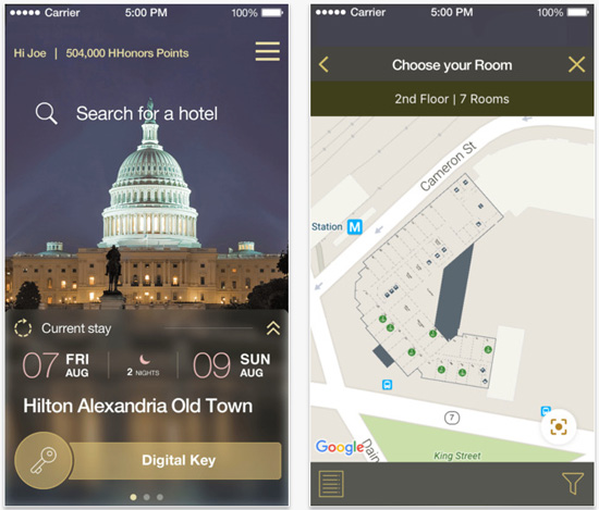 hilton-mobile-app