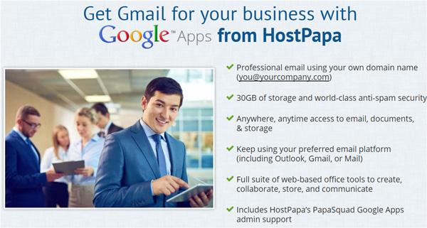 hostpapa-google-app