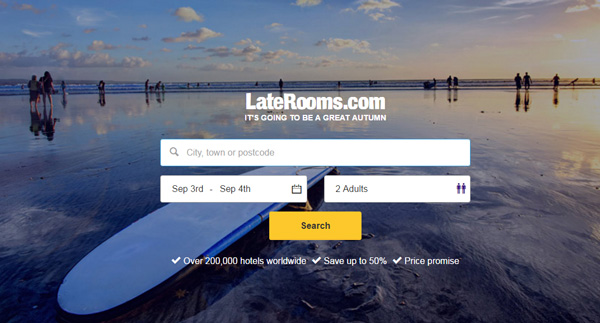 LateRooms Logo