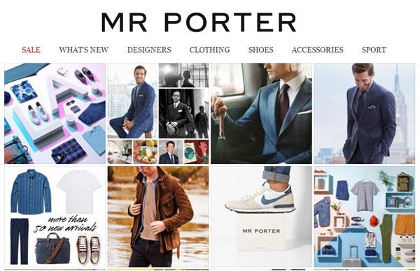 MR PORTER Logo