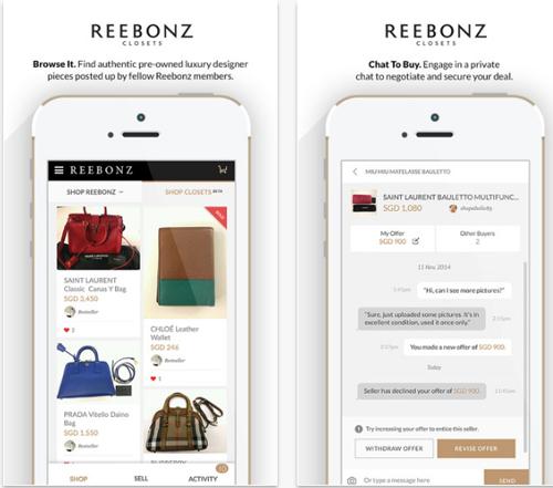 Reebonz mobile app