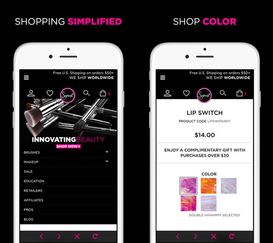 Sigma Beauty mobile app