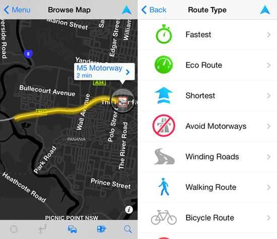 TomTom Mobile App