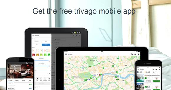 Trivago mobile app