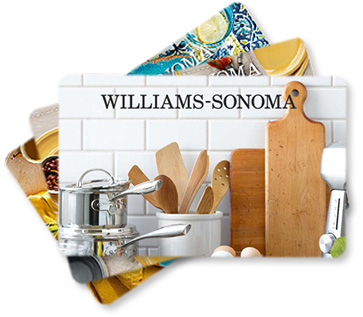 Williams-Sonoma gift cards