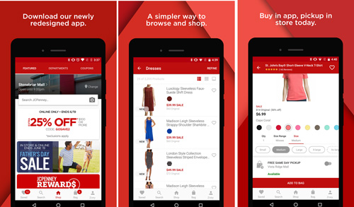 JCPenney Mobile App