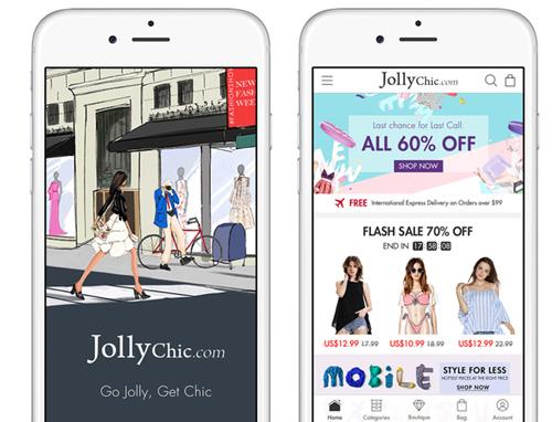 JollyChic mobile app
