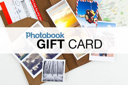 Photobook Australia gift card