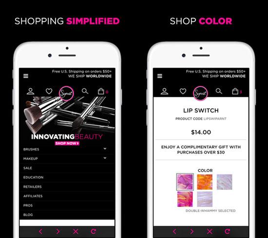 Sigma Beauty mobile app