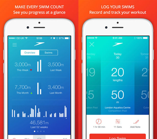 Speedo mobile app