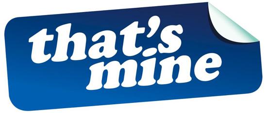 That's Mine Logo