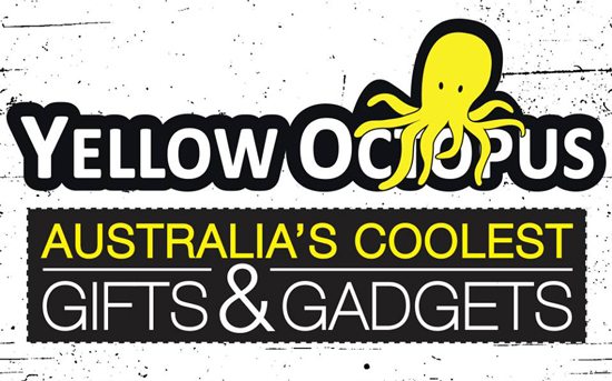 Yellow Octopus Logo